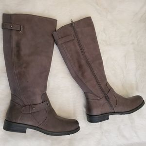 Baretraps Clary Gray Long Riding Boots